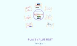 Copy of Place Value Lesson Unit 1