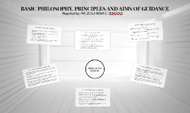 BASIC PHILOSOPHY, PRINCIPLES AND AIMS OF GUIDANCE