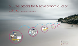 Five Buffer Stocks for Macroeconomic Policy