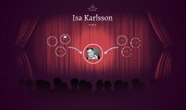 Asiantuntijahaastattelu - Isa Karlsson