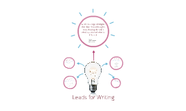 Leads for Writing