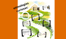 Copy of ETIMOLOGIAS