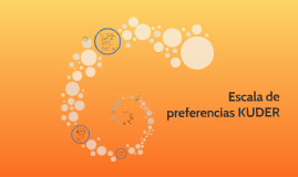 Copy of Escala de preferencias KUDER