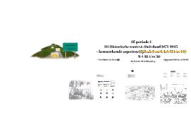 H1 Inleiding en H3 Historische context: Duitsland 1871-1945