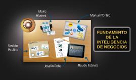 Fundamento de la inteligencia de negocios