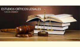 ESTUDIOS CRÍTICOS LEGALES