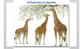 Copy of Biology Chapter 15 Section 2 Influences on Darwin