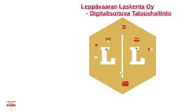 LL ja Talosuhallinnon Digitalisoituminen