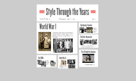 Style Through the Years