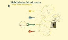 HABILIDADES DEL EDUCADOR