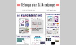 Historique projet DATA Bordeaux 2010-2019