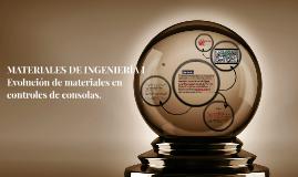 MATERIALES DE INGENIERÍA I