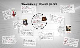 Presentation of Reflective Journal