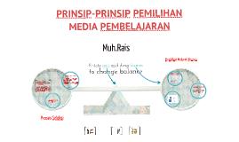 Prinsip Pemilihan Media Pembelajaran