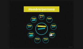 Hombre/persona