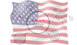 Article V: