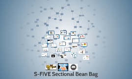S-FIVE Sectional Bean Bag