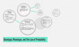Genotype, Phenotype, and The Law of Probability