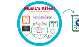 Music's Affect On Academic Performance