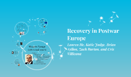 Recovery in Postwar