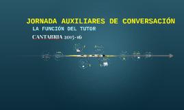 JORNADA AUXILIARES DE CONVERSACIÓN
