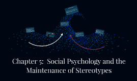 GDM - Chapter 5:  Social Psychology and the Maintenance of Stereot