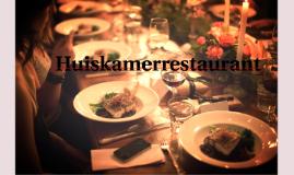 Huiskamerrestaurant