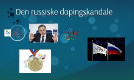 Den russiske dopingskandale
