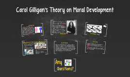 Carol Gilligan's Theory on Moral Development