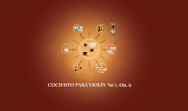 COCIERTO No°1 PARA VIOLÍN EN Eb, Op. 6