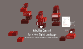 Adaptive Content for a New Digital Landscape