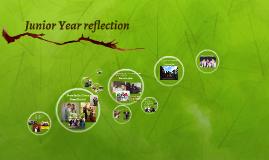 Junior Year reflection