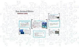 Zoo Animal Ethics
