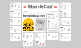 Welcome to Field School!