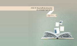 FASE IV Desarrollo de proyectos de estrategia legal fiscal