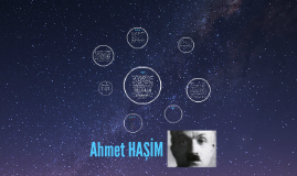 Ahmet HAŞİM