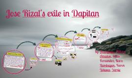 Copy of Jose Rizal in Dapitan
