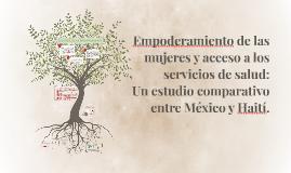 Copy of Empoderamiento de las mujeres y acceso a los servicios de sa