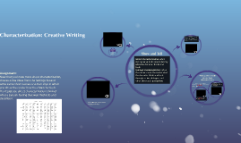 Characterization: Creative Writing