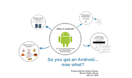 So you got an Android... now what?