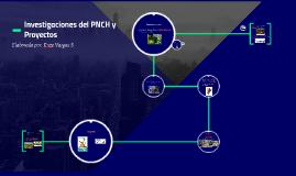 Investigaciones del PNCH y Proyectos