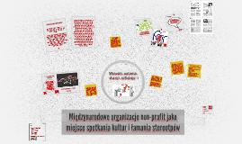 Międzynarodowe organizacje non-profit jako miejsce spotkania