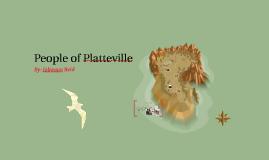 People of Platteville