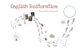 English Restoration