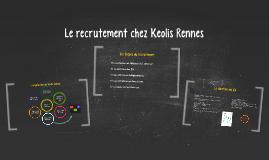 Le recrutement chez Keolis Rennes