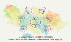 Le langage oral, la lecture et l'écriture : exemples d'activités sur tablettes