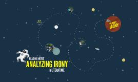 Analyzing Irony