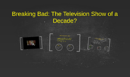 Copy of Breaking Bad: The Television show of a decade?