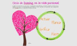 Ciclo de Deming, personal