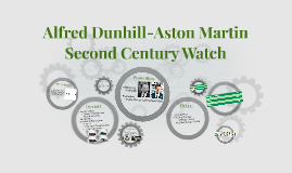 Alfred Dunhill-Aston Martin Second Century Watch